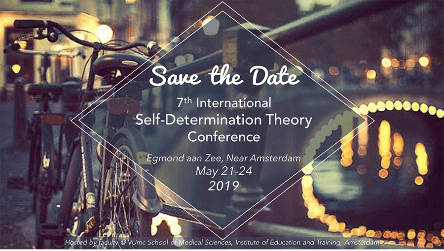 SDT2019 Conference Website LIVE – selfdeterminationtheory org